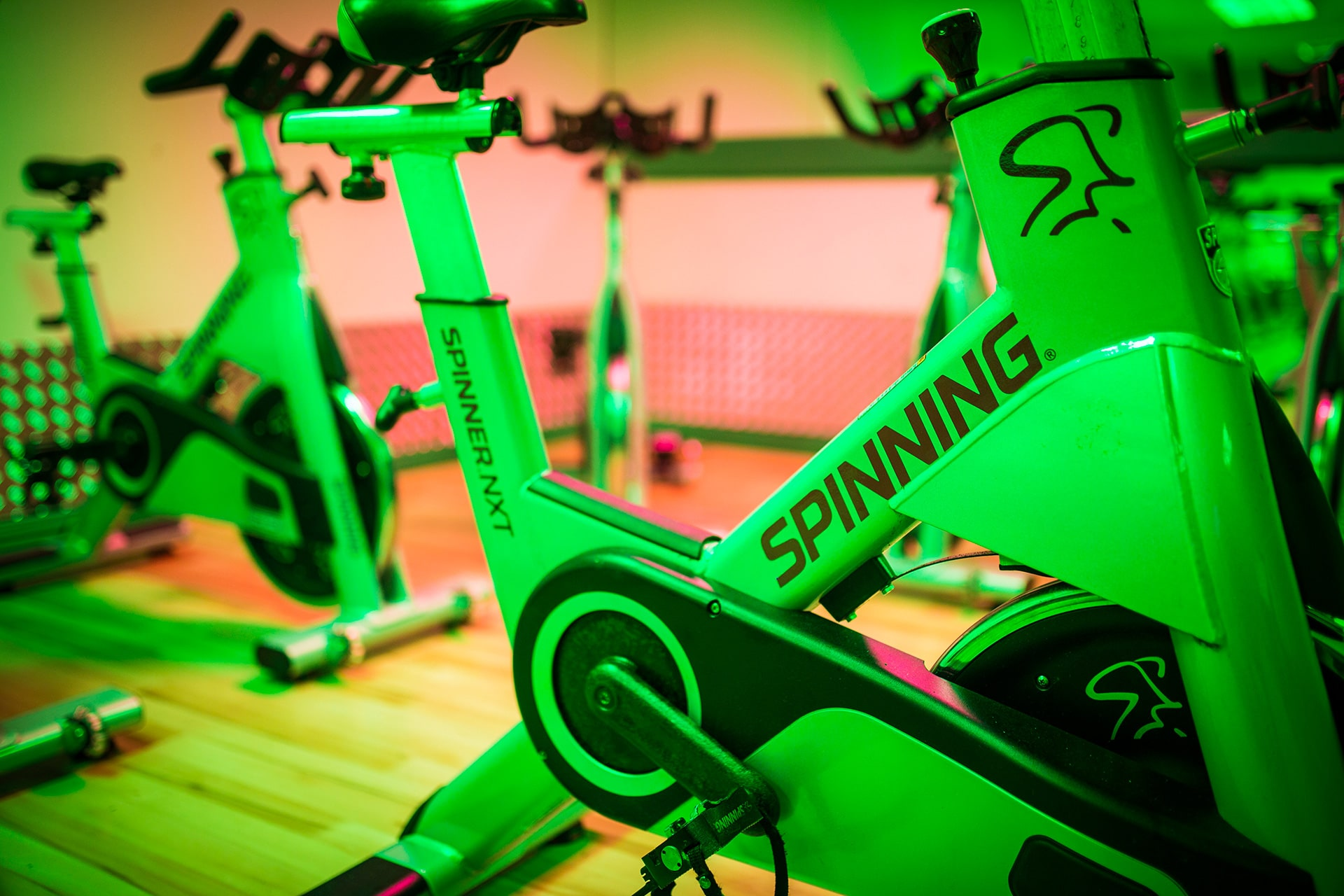 Riverside Sports & Leisure Club Bristol - spin cycling studio
