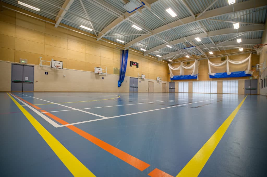 Riverside Sports & Leisure Club Gloucester - sports hall