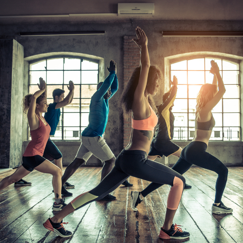 5 Benefits Of Group Exercises
